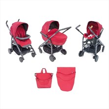 Chicco Trio Love W Kit Car Red