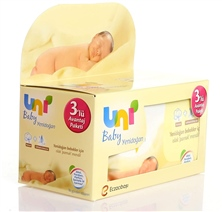 WİPES BABY NEWBORN 40s 3Lüx UNI